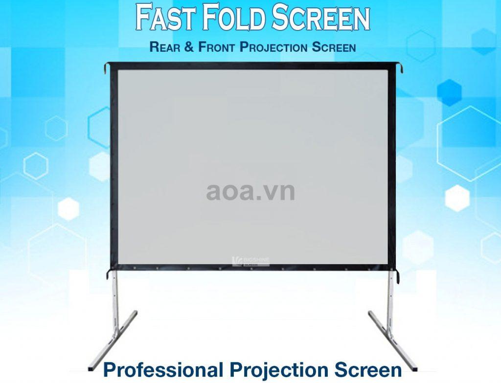 Màn chiếu khung di động Exzen - Fast fold screen