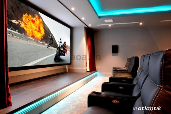 aluminum_frame_16_9_hdtv_wall_mount_fixed_frame_screen_for_home_cinema
